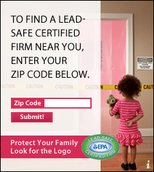 Lead Paint comes with a lifetime warranty. It will do damage for generations. Protect Your Family. Look for the Logo.  U.S. EPA's Lead-Safe Certified Firm logo. To find a Lead-Safe Certified Firm Near You, Enter Your Zip Code Below.