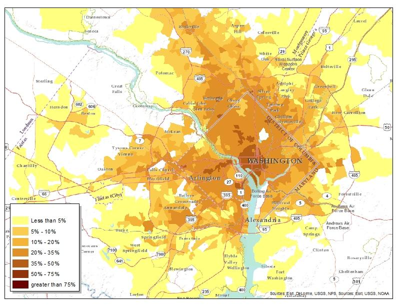 Smart Location Mapping Smart Growth US EPA - Dc universe us map