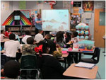 Dr King 4th Grade Class Learns About History of Kites