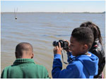 Dr King 4th Grade Students Experimenting with Photography at Bayou Bienvenue