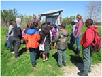 Dr King 4th Grade Students Learn About Bayou Bienvenue