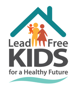 """Lead Free Kids for a Healthy Future"" logo"