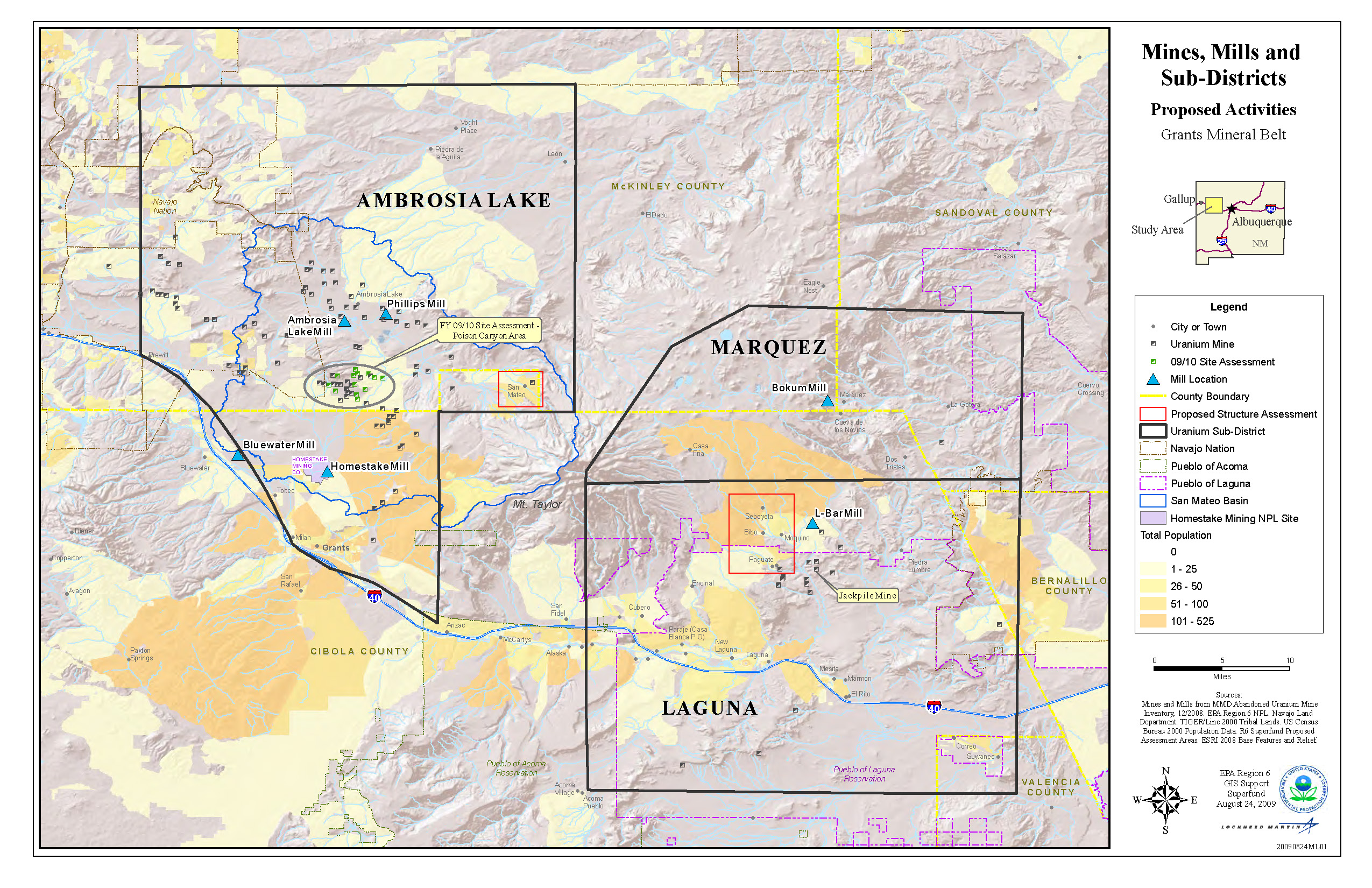 Grants Mining District in New Mexico US EPA