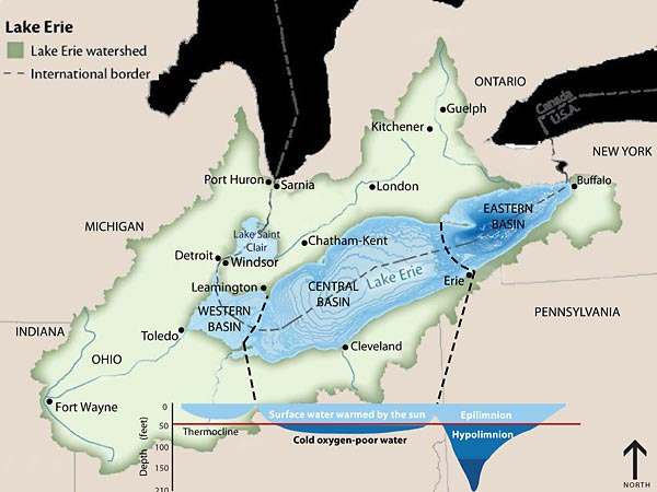 Recommended Binational Phosphorus Targets Great Lakes Water