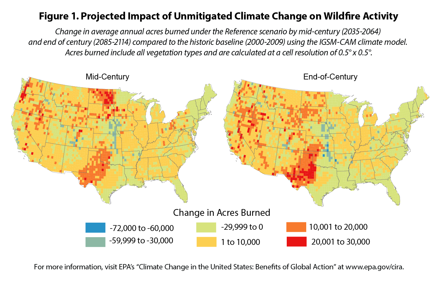 Climate Action Benefits Wildfire Climate Change In The United - Us wildfire activity map