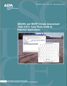 Cover of the BASINS and WEPP Climate Assessment Tool: Case Study Final report