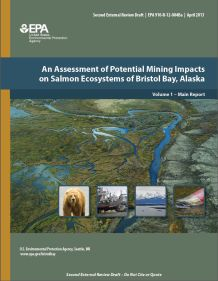Cover of the Second Draft of the Bristol Bay Assessment Report