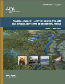 Cover of volume 1 of  the Bristol Bay, Alaska Final Assessment Report
