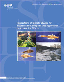 Cover of the Climate Change for State Bioassessment Programs and Approaches  Final Report