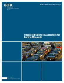 Cover of the Integrated Science Assessment (ISA) for Carbon Monoxide