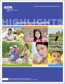 Cover of the Highlights of the Exposure Factors Handbook