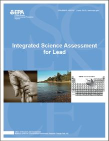 Cover of the Integrated Science Assessment (ISA) for Lead