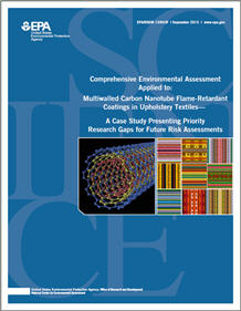 Cover of the Multiwalled Carbon Nanotube Case Study Final Report