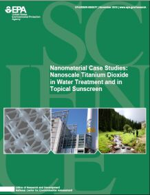 Cover of the Nanomaterial Case Studies Final Report
