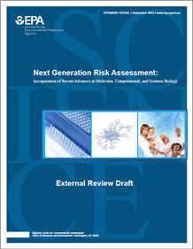 Cover of the Next Generation of Risk Assessment (External Review Draft)