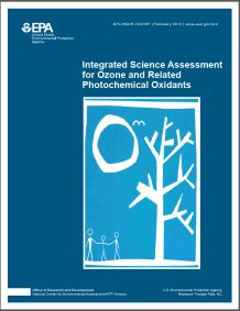 Cover of the Integrated Science Assessment (ISA) for Ozone and Related Photochemical Oxidants