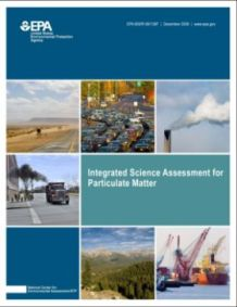 Cover of the Integrated Science Assessment (ISA) for Particulate Matter