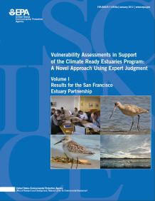 Cover of the San Francisco Estuary Partnership Climate Ready Estuaries Program Final Report