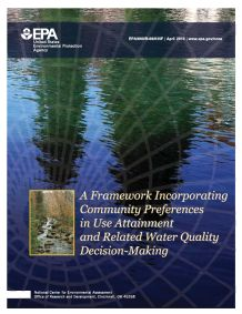 Cover of the Framework for Use Attainment 2011 Final Report