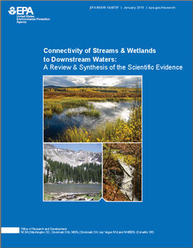 Cover of Waters of the US Connectivity of Streams Final Report