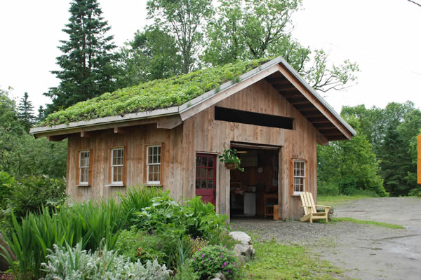 Green Roof In Craftsbury, Vermont