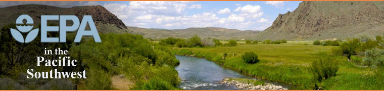 River running through South West desert: Land of the Duck Valley Tribe, Nevada