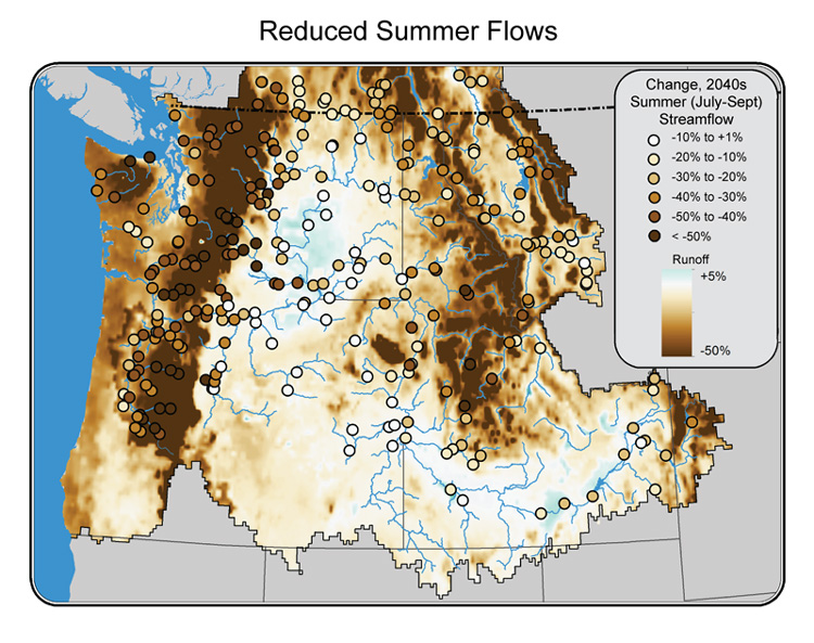 Climate Impacts in the Northwest Climate Change Impacts – Map Usa North West