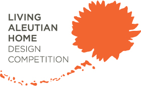 Logo for the Living Aleutian Home Design Competition
