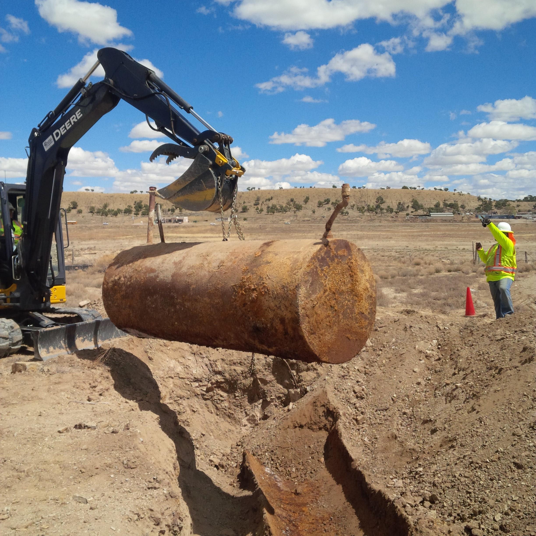 Steel Tank Demolition : July—august pacific southwest newsletter
