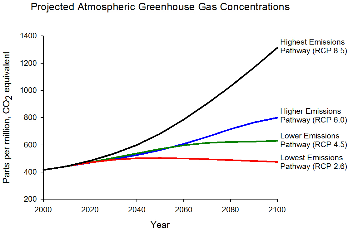 What do greenhouse gases have to do with global warming?