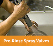 WaterSense Products Pre-Rinse Spray Valves