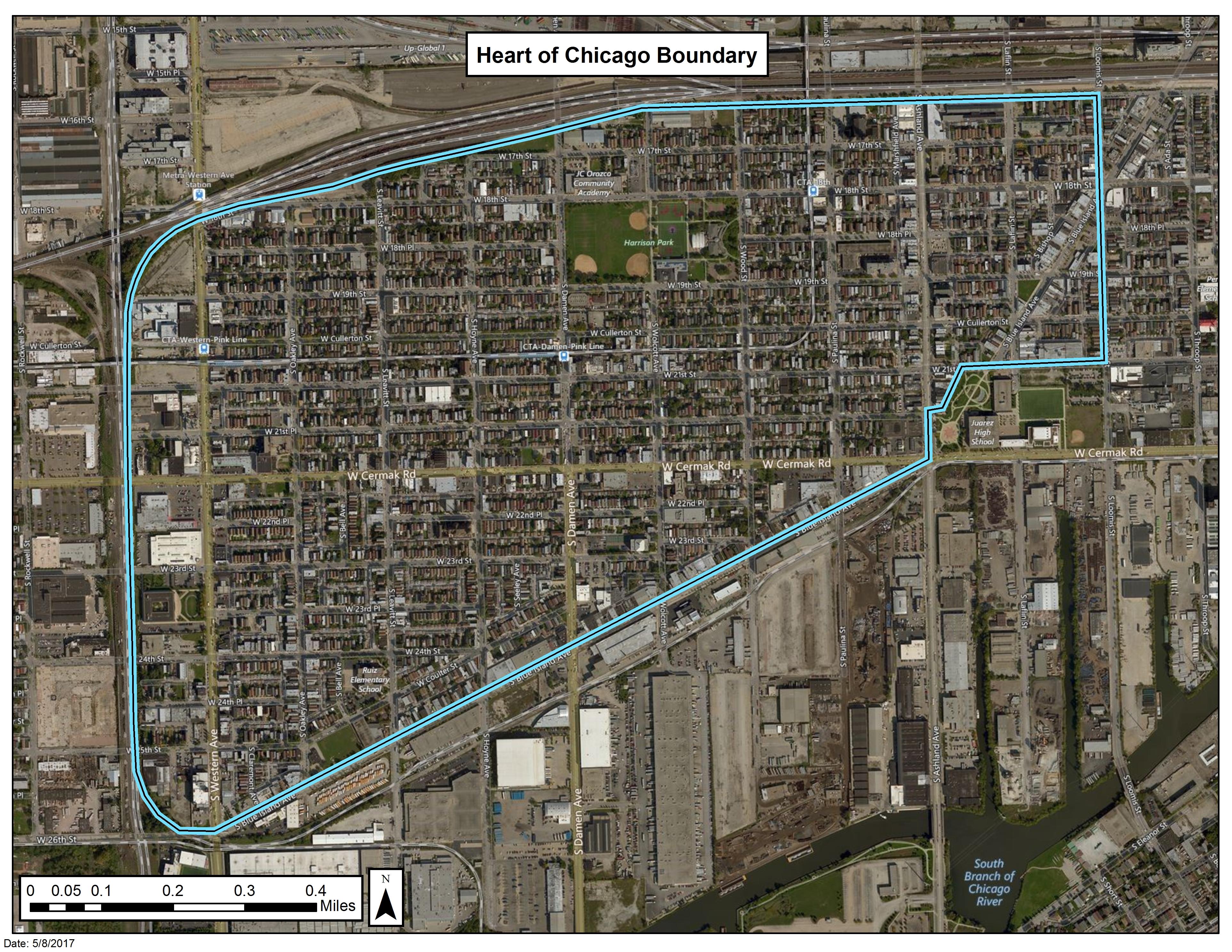 Heart of Chicago Area Soils Site   EPA in Illinois   US EPA