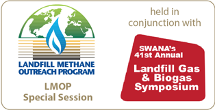 Graphic for SWANA's Landfill Gas & Biogas Symposium