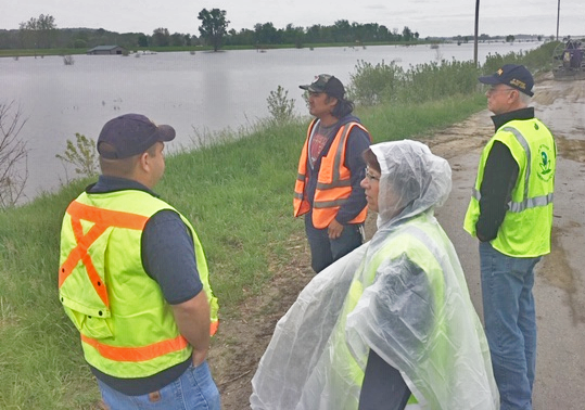 EPA Assists States in Midwest Flood Zone of 2019 | About EPA