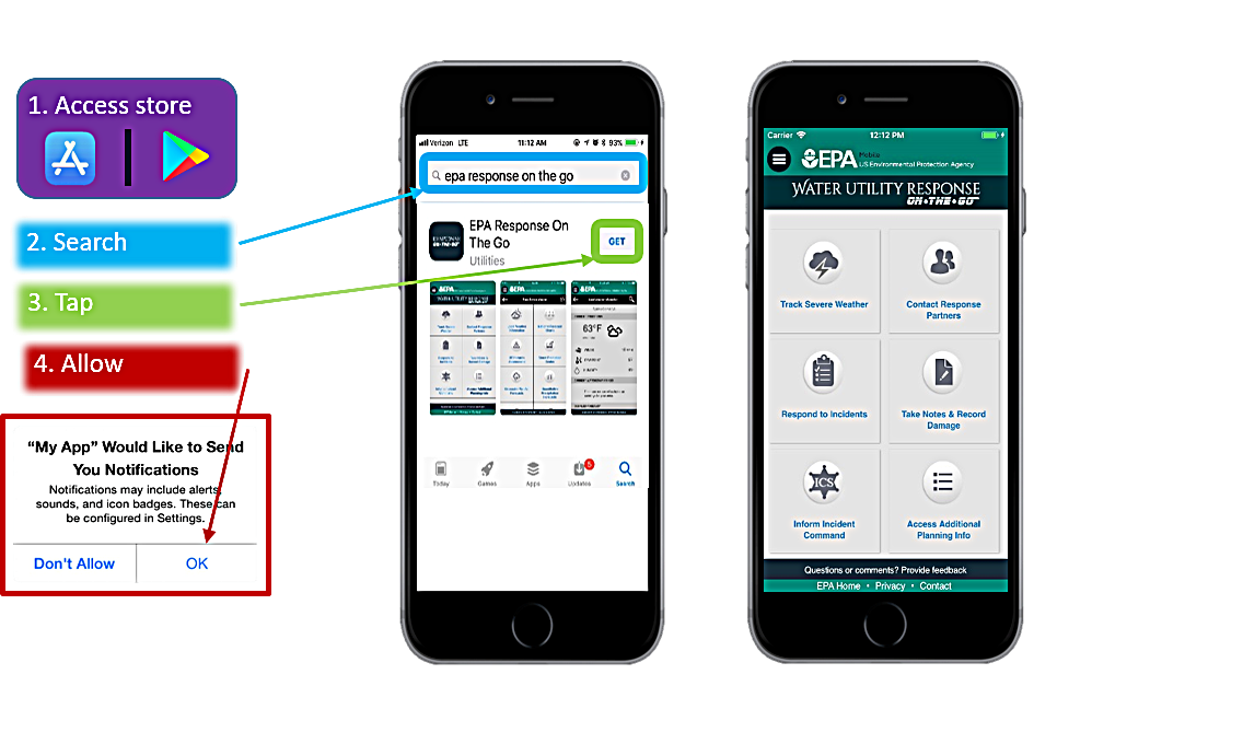 Water Utility Response On-The-Go Mobile Application
