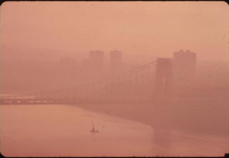New York City in 1973 (polluted)