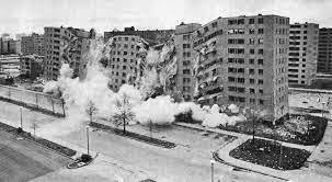 image of Pruitt Igoe demolition