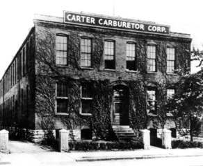 image of Vintage building photo Carter Carb story