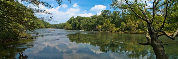Chattahoochee River National Recreation Area in Roswell, Georgia