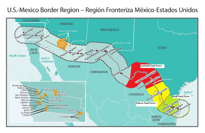 a discussion of the conflict of the international border of united states and mexico Natural resources, conflict discussion i: value and natural globe and at home challenge us to rethink the role of the united states in the international.
