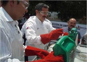 Household Hazardous Waste Event in Nuevo Laredo Tamaulipas
