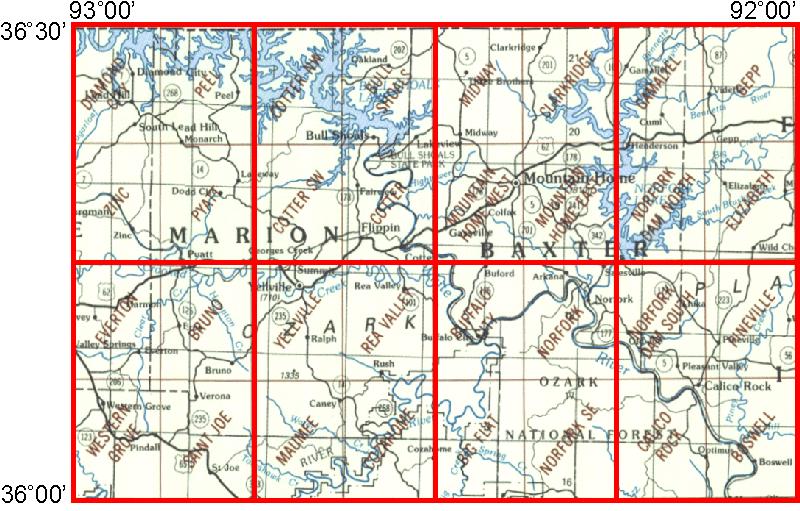 WhAEM2000 BBM Files - Bull Shoals Lake, Arkansas | Environmental ...