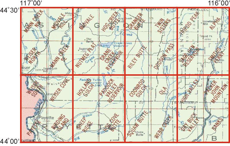 Whaem2000 Bbm Files Weiser Idaho Environmental Modeling