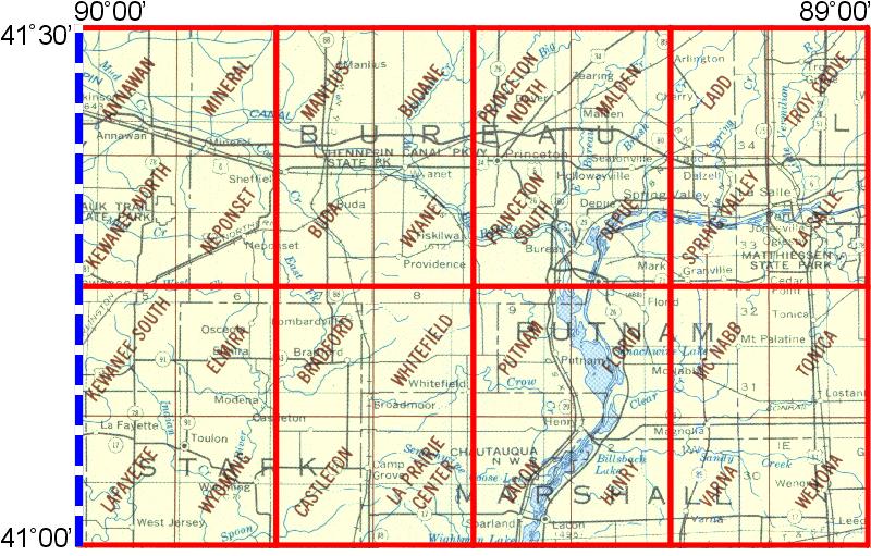 Kewanee Illinois Map.Whaem2000 Bbm Files Kewanee Illinois Environmental Modeling