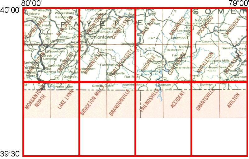 WhAEM2000 BBM Files - Morgantown, Pennsylvania | Environmental