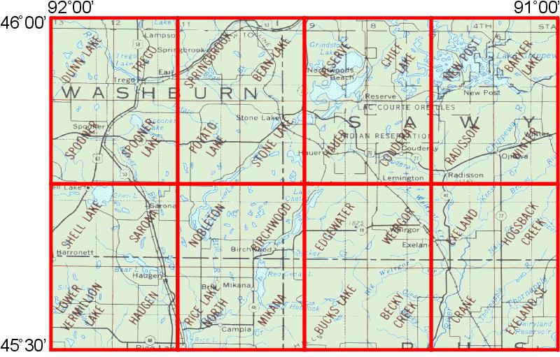 Whaem2000 Bbm Files Spooner Wisconsin Environmental Modeling