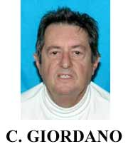 photograph of fugitive Carlos Giordano