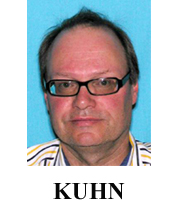 Photograph of fugitive Peter Kuhn