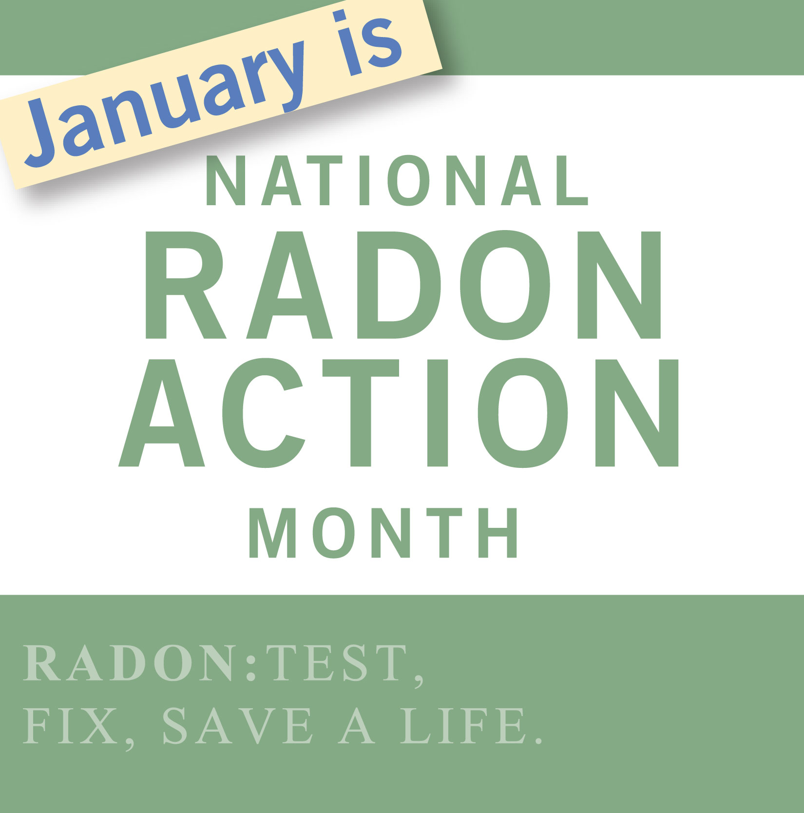 National Radon Action Month