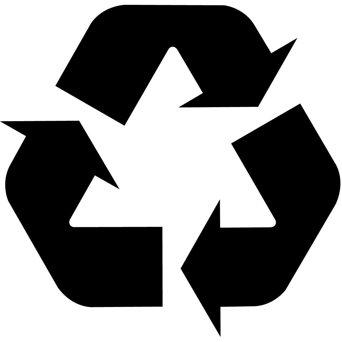 recycling logo black arrows recycling logo white arrows recycling logo ...